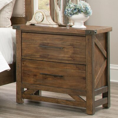 One Allium Way Lake Park 2 Drawer Nightstand