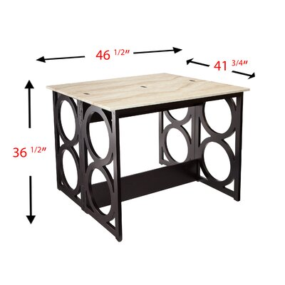 Latitude Run Maura Counter Height Console/ Dinin..