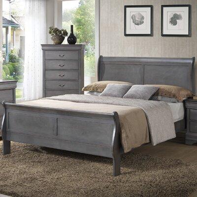 Wildon Home ® Louis Philipe Bed