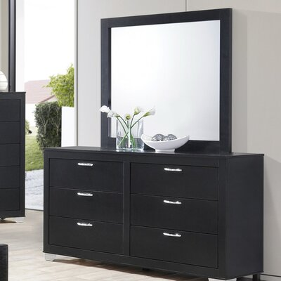 Wildon Home ® Brahma 6 Drawer Dresser with ..