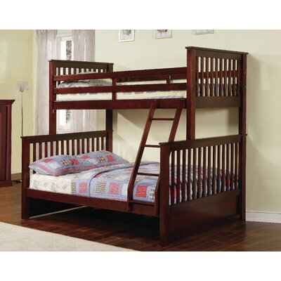 Wildon Home ® Rockwell Twin over Full Bunk Bed with Drawers