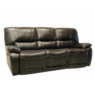 Wildon Home ® Leather Double Reclinin..