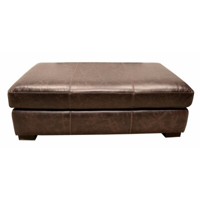 Wildon Home ® Leather Ottoman Image
