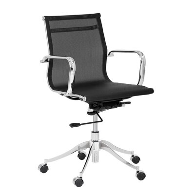 Brayden Studio Ianthe Tanner Mid-Back Desk Chair