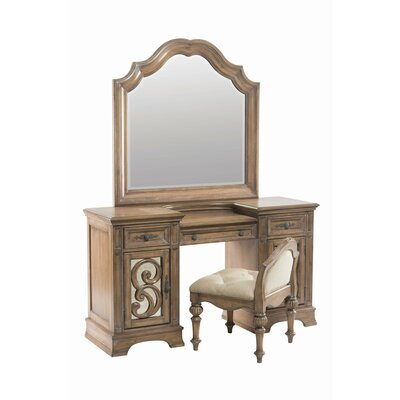 Wildon Home ® Ilana Vanity Set with Mirror