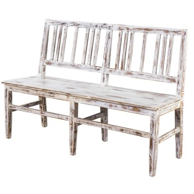 Wildon Home ® Garcia Bench - Buffed Strata