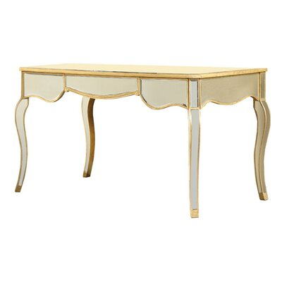 Wildon Home ® Camille Writing Desk with Drawers