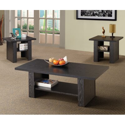 Wildon Home ® Youngtown 3 Piece Coffee Table Set