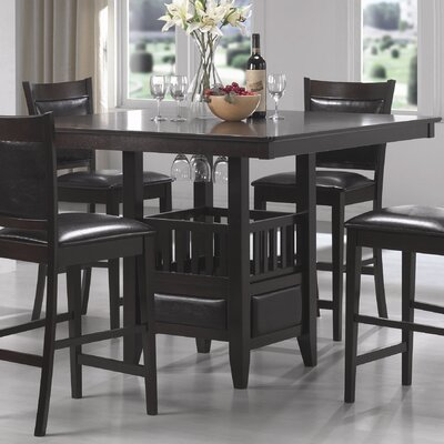 Charlton Home Greenwood Counter Height Dining T..