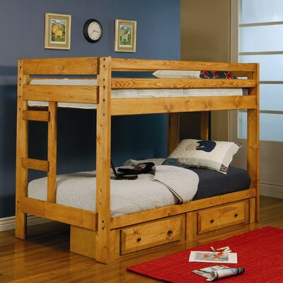 Wildon Home ® Navarro Twin Bunk Bed