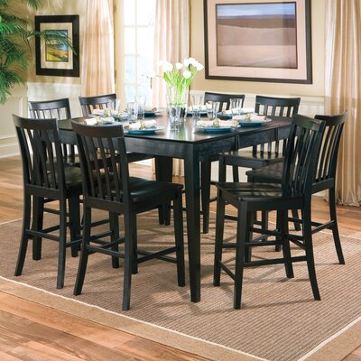 Wildon Home ® Lakeside Counter Height Extendable Dining Table