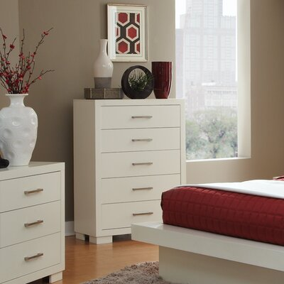 Wade Logan Adolph 5 Drawer Chest