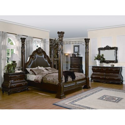 Wildon Home ® Calidonian Canopy Bed
