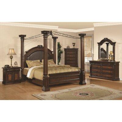 Wildon Home ® Juliet Four Poster Customizable Bedroom Set