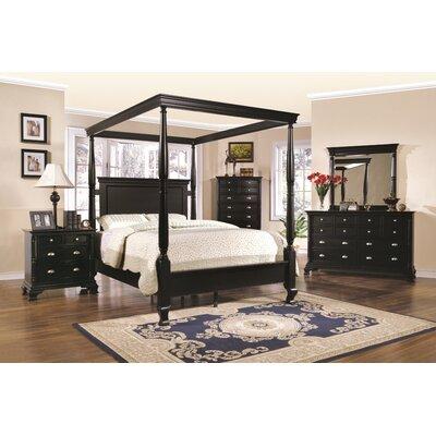 Wildon Home ® St. Regis Queen Canopy Customizable Bedroom Set