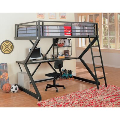 Wildon Home ® Drew Full Loft Bed