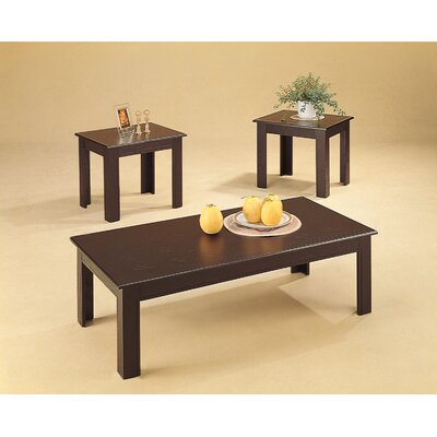 Wildon Home ® Ironside 3 Piece Coffee Table Set