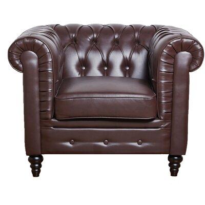 Gold Sparrow Arlington Club Chair