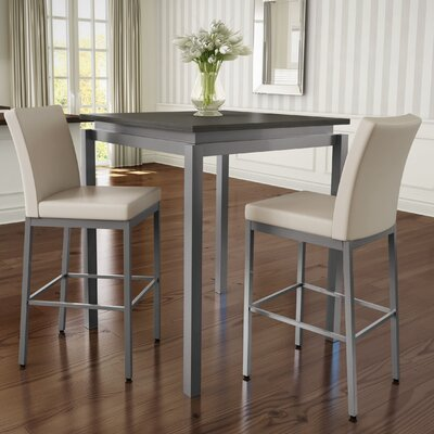 Brayden Studio Capella 3 Piece Pub Table Set