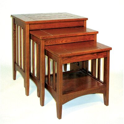 Oriental Furniture Hugo 3 Piece Nesting T..