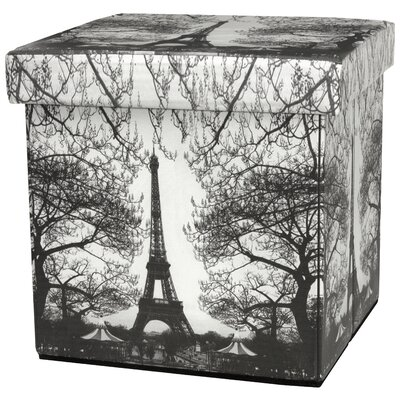 Oriental Furniture Eiffel Tower Storage O..