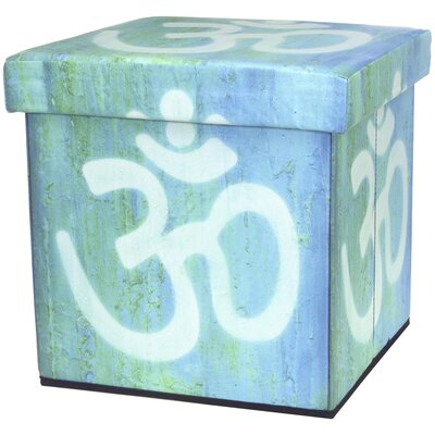 Oriental Furniture Om Storage Ottoman