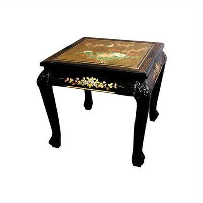 Oriental Furniture Chinese End Table