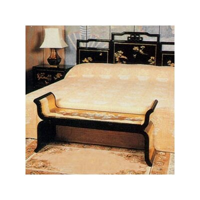 Oriental Furniture Chinese Gold Leaf Bedr..