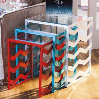 Breakwater Bay Dempsey 3 Piece Nesting Tables Image