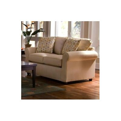 Klaussner Furniture Brigthon Dreamquest Queen Sleeper Loveseat