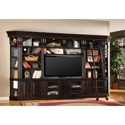 Parker House Furniture Venezia 8-Piece Library Wall