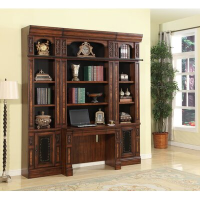 Astoria Grand Victoria Desk and Bookcase Wall
