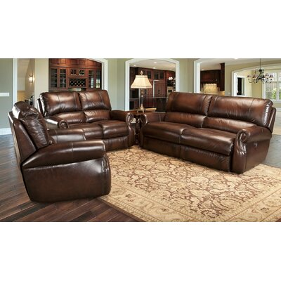 Darby Home Co Hardcastle Leather Living Room Collection