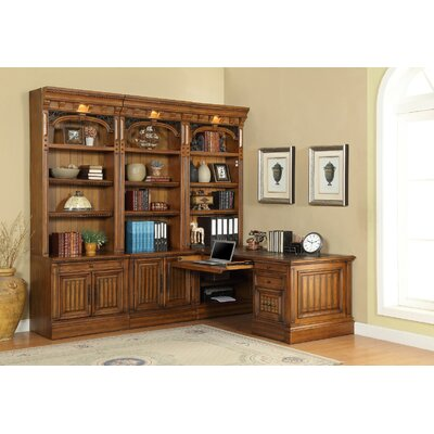 Parker House Furniture Barcelona 7-Piece Home Office