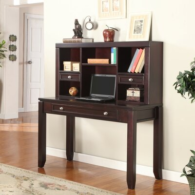Parker House Furniture Boston 2 Piece Writing Desk and Hutch