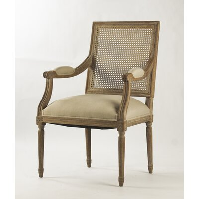 Zentique Inc. Louis Arm Chair