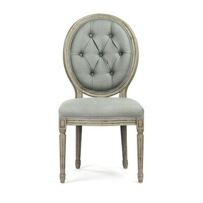 Zentique Inc. Tufted Medallion Side Chair