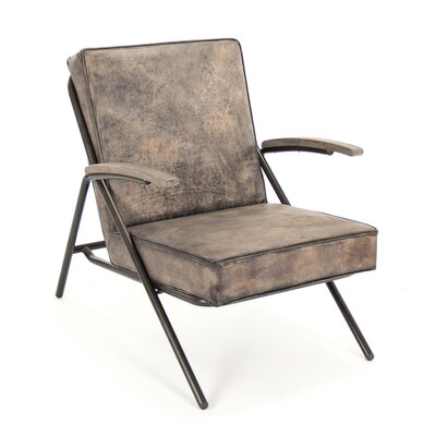 Zentique Inc. Lucas Lounge Arm Chair