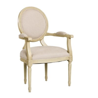 Zentique Inc. Medallion Arm Chair