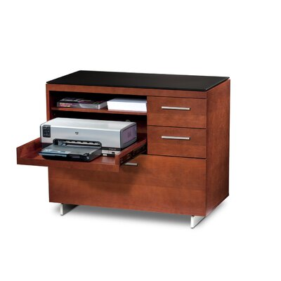 "BDI Sequel 35"" 3-Drawer File"