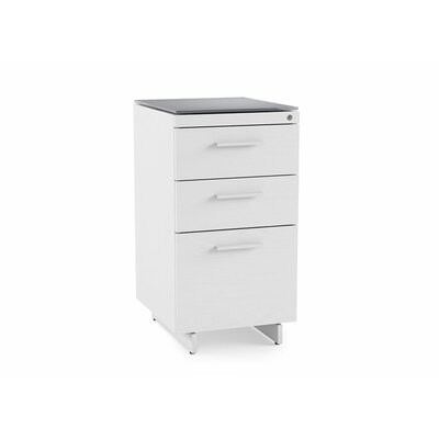 BDI Centro 3-Drawer File Cabinet