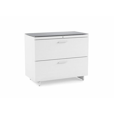 BDI Centro 2-Drawer Lateral File Cabinet