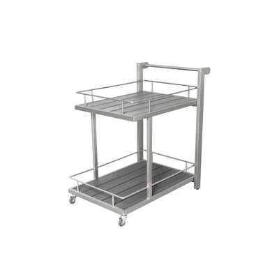 Wade Logan Darino Bar Serving Cart