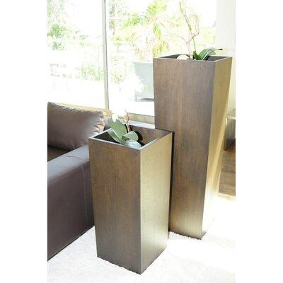 Pangea Home Square Pot Planter Amp Reviews Wayfair