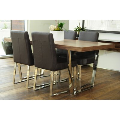 Pangea Home Liana 5 Piece Dining Set
