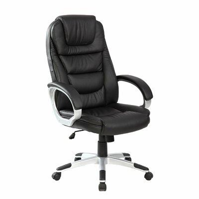 Merax Adjustable High Back Leather Executive Chair