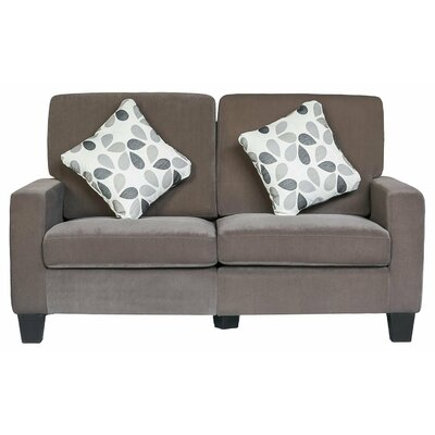 Merax Luxurious Fabric Chesterfield Loveseat