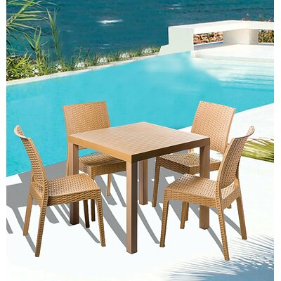 Merax 5 Piece Dining Set