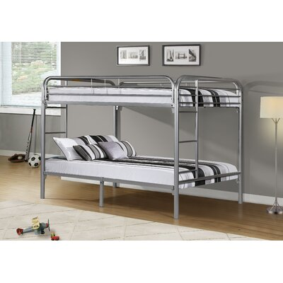 Monarch Specialties Inc. Full over Full Futon Bunk Bed