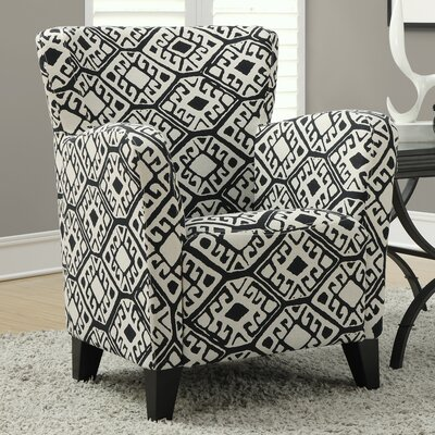 Monarch Specialties Inc. Abstract Arm Chair